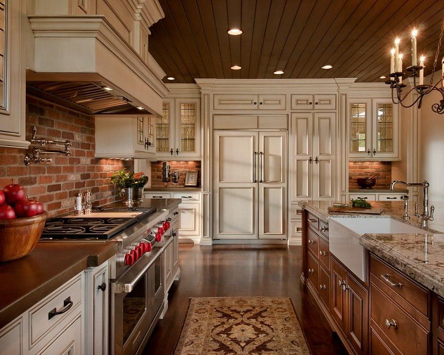 Brick Backsplash Idea Makes Your Kitchen Looks Beautiful