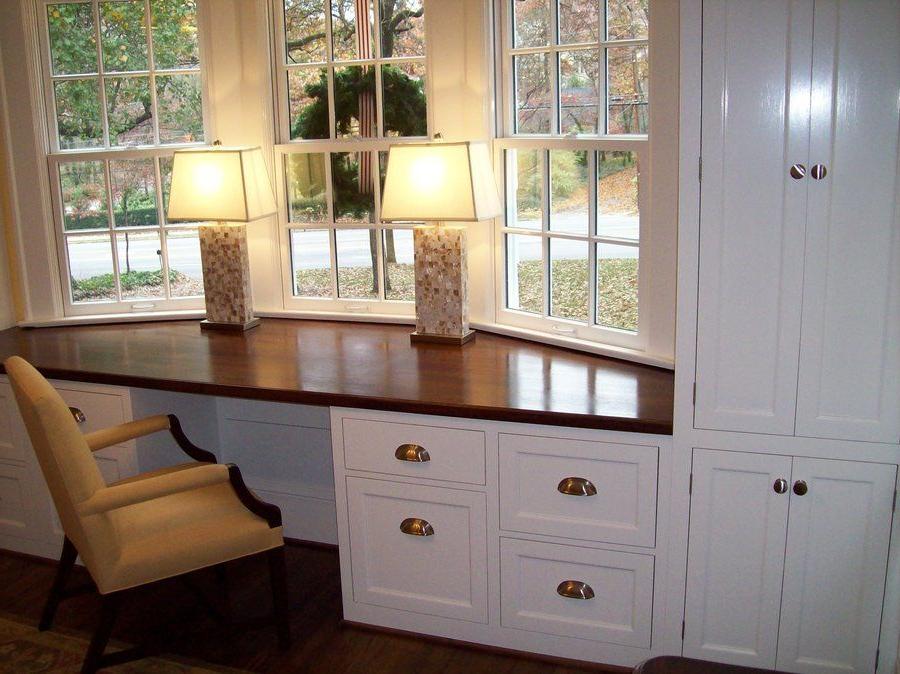 Built In Desk Cutmantom Lumberjocks