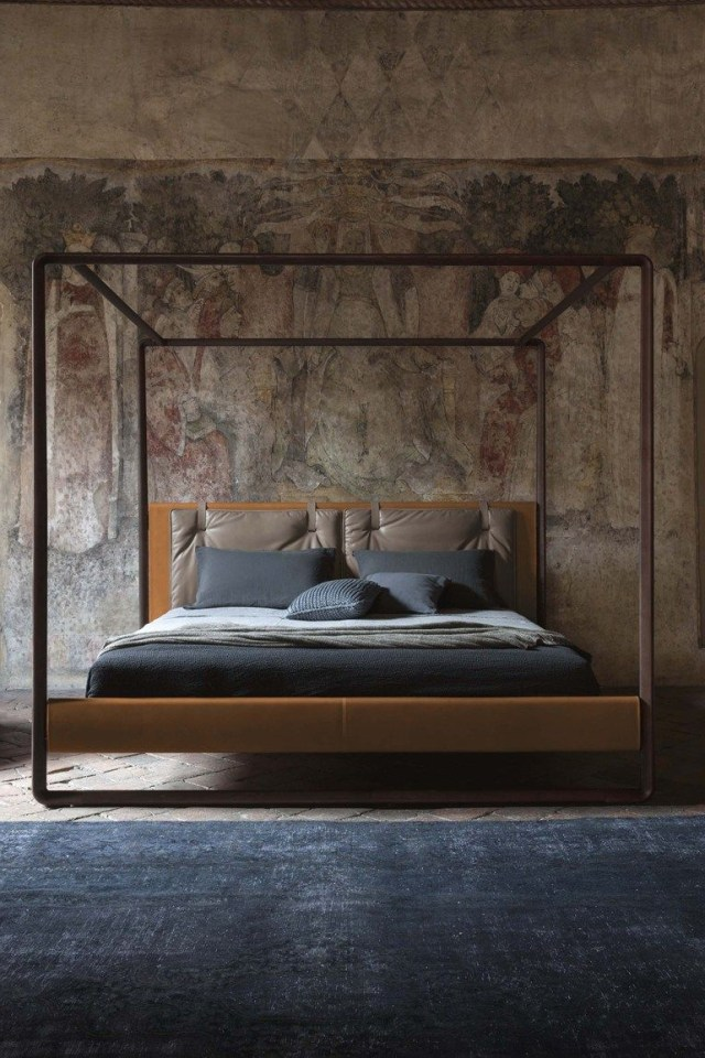 Canopy Bed Volare Poltrona Frau Design Roberto