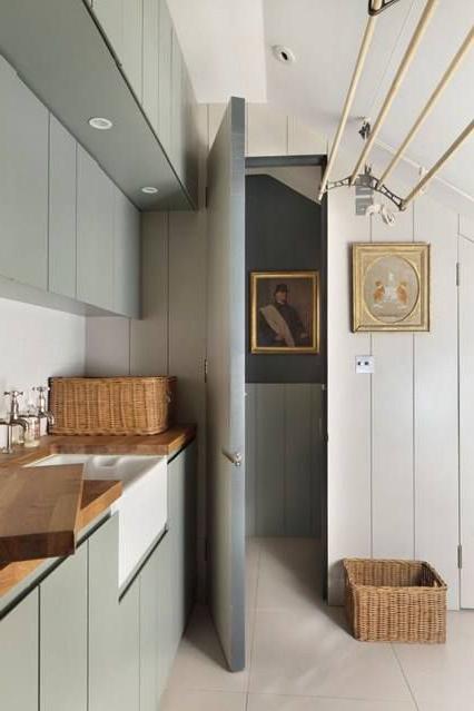 Caroline Holdaways Dream Cotswold Cottage Utility Room