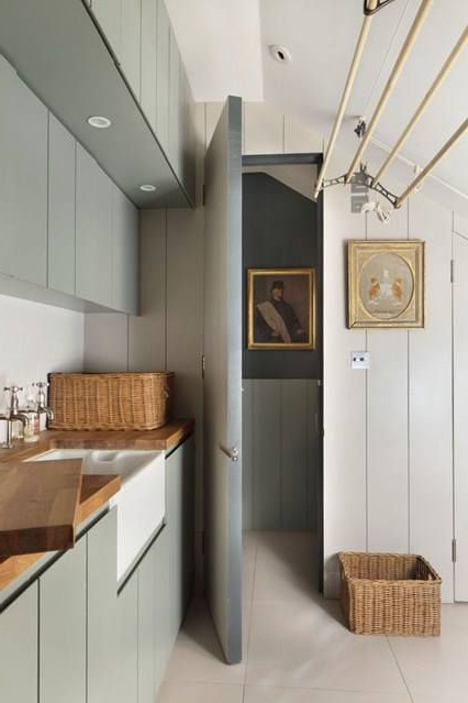 Caroline Holdaways Dream Cotswold Cottage Utility Room