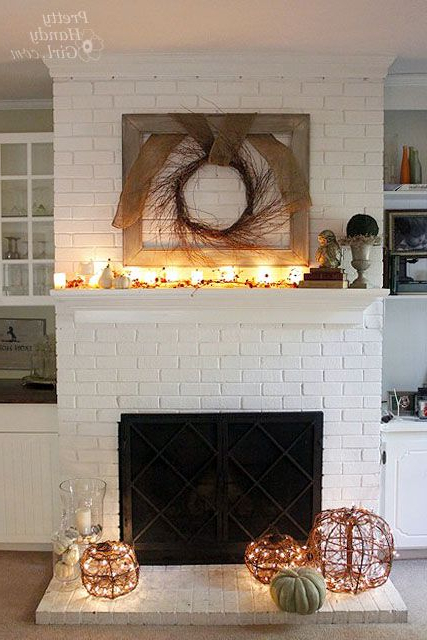 Charm And Character A House Tour Brick Fireplace