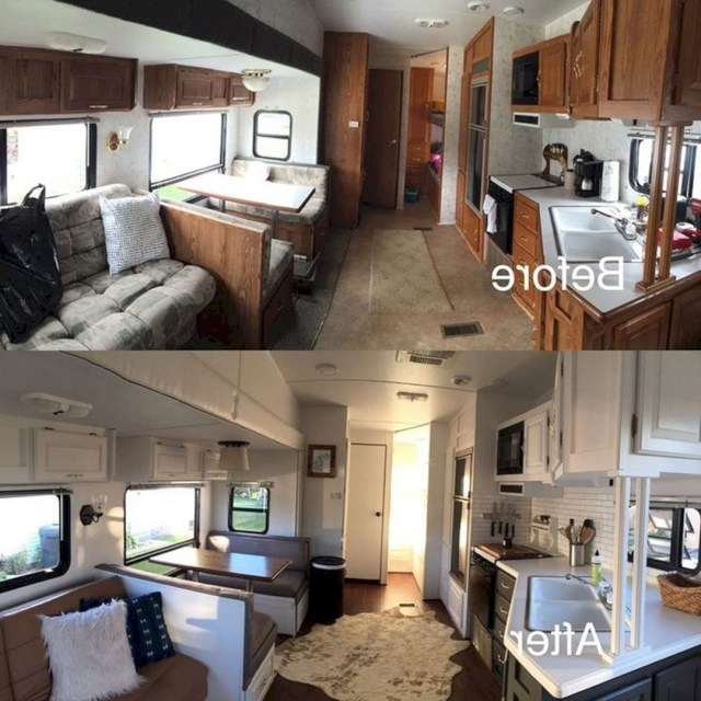 Clever Farmhouse Rv Camper Space Saving Ideas Epic 25 Best