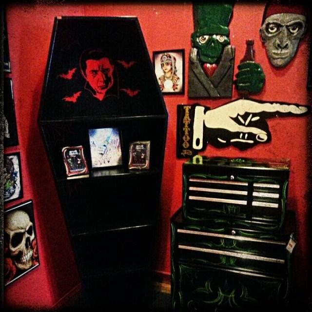 Coffin Bookcase Wwwspitfireinteriors Gothic Decor