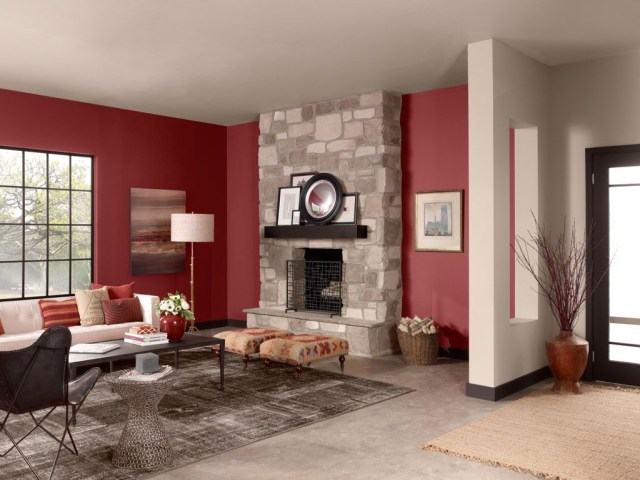 Color Palettes In 2020 Living Room Red Living Room