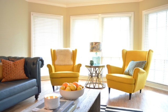 Colorful Modern Chairs Summer Living Room Furniture
