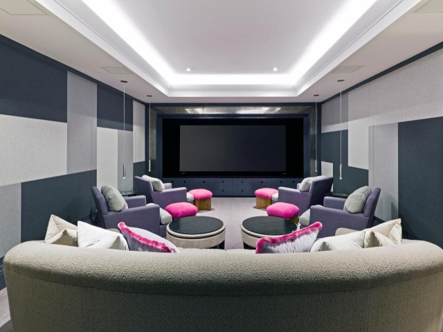 Comely Home Theater Room Design Ideas Living Minimalist