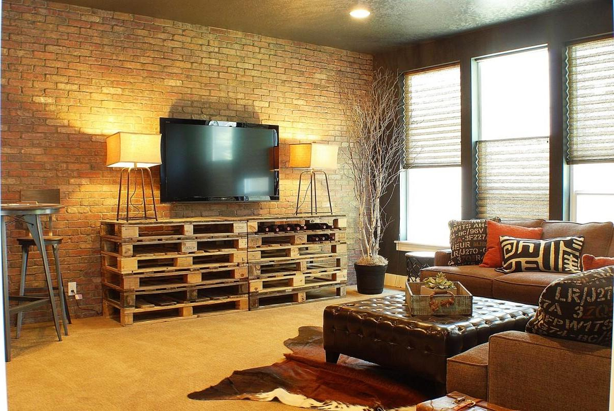 Contemporary And Fashionable Decorating Modern Brick