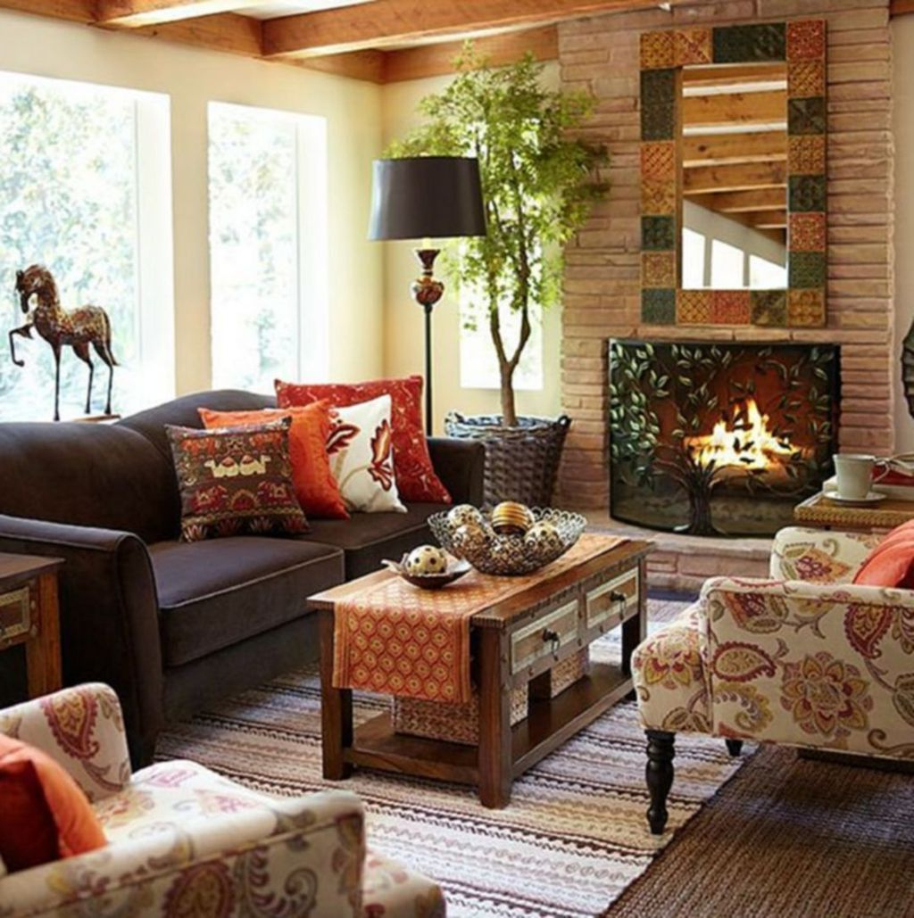 Cool 30 Comfy Bohemian Farmhouse Decorating Ideas For