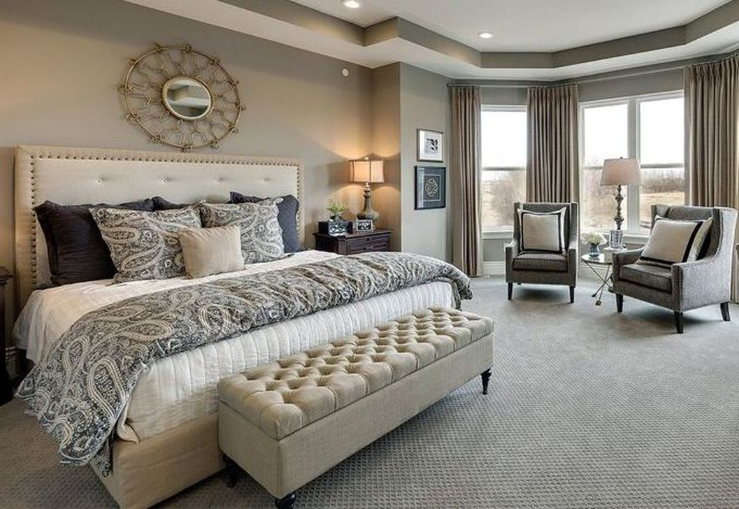 Cool 41 Beautiful Master Bedroom Makeover Design Ideas