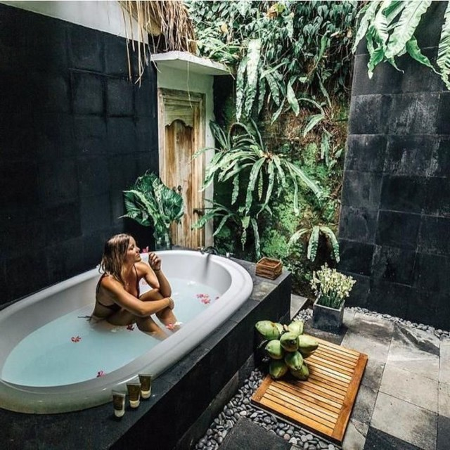 Cool 46 Amazing Outdoor Bathroom Design Ideas More At