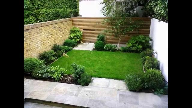 Cool Small Back Garden Designs Youtube