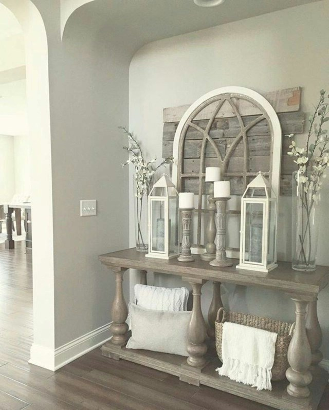 Cute Rustic Farmhouse Home Decoration Ideas 39 Home