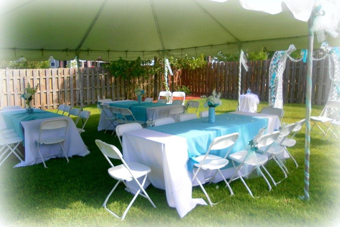 Decorating For A Summer Wedding Cheap Backyard Wedding
