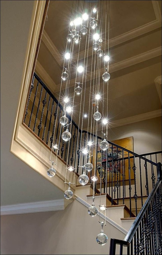 Decoration Contemporary Crystal Chandelier Decorating