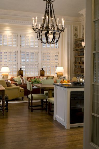 Design Portfolio And Lookbook Kitchen Sitting Areas
