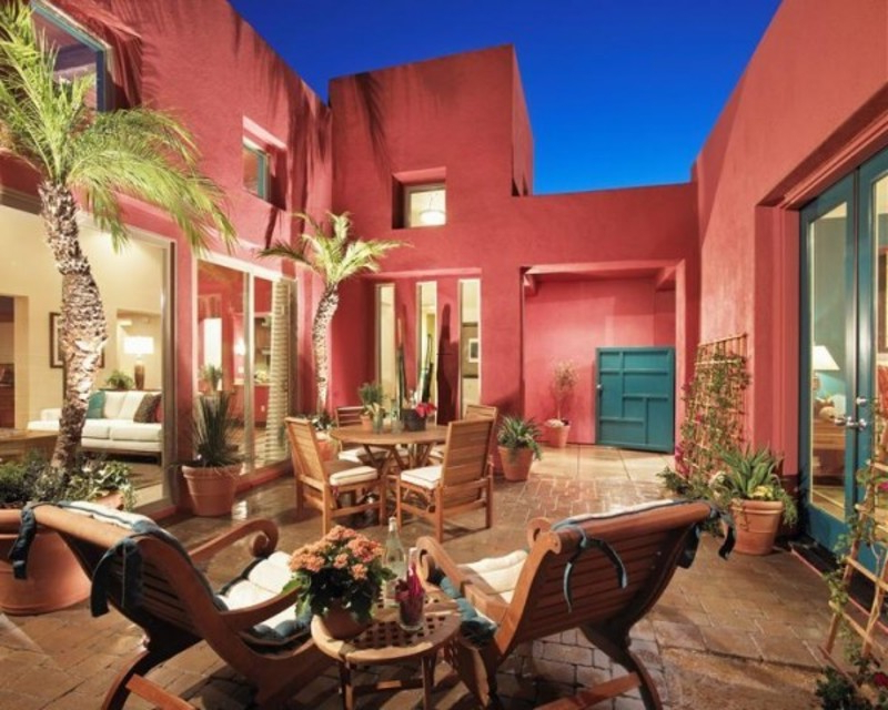 Design Style Mediterranean Inspired Home Ideas Design