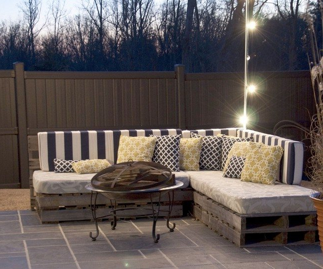 Diy Making Your Own Pallet Patio Furniture Decor Around