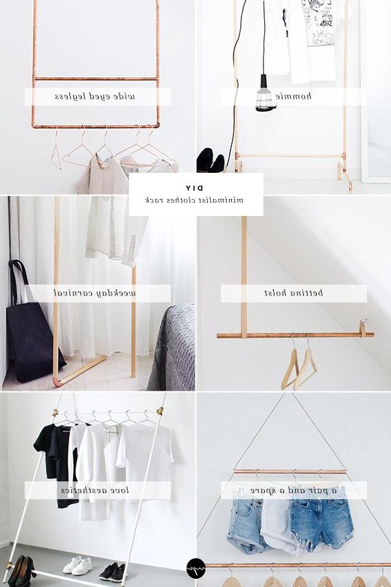 Diy Minimalist Clothes Rack Diy Clothes Rack