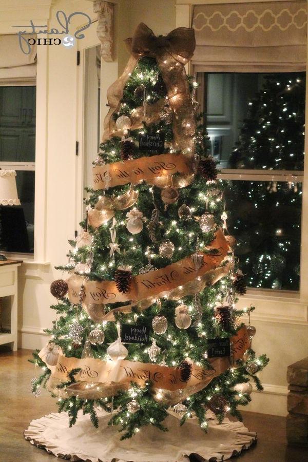 Diy Pinecone Ornaments My Tree Christmas Tree