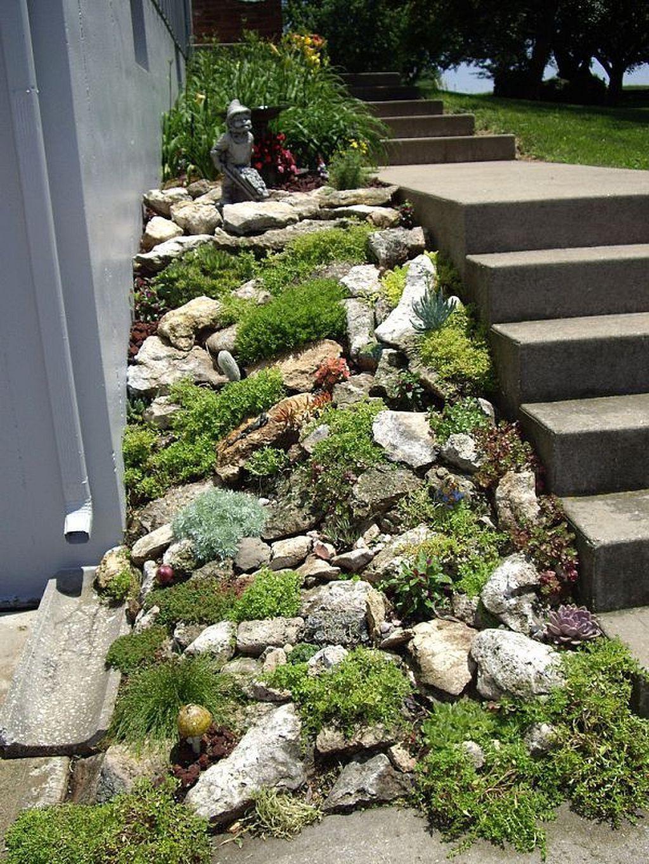 Diy Rock Garden Designs Rock Garden Design Succulent