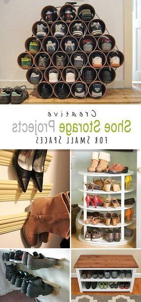 Diy Shoe Storage Ideas For Small Spaces Diy Shoe Storage