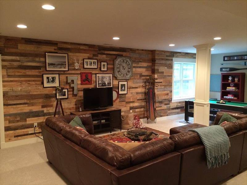 Diy Wood Pallet Wall Ideas And Paneling Easy Pallet Ideas