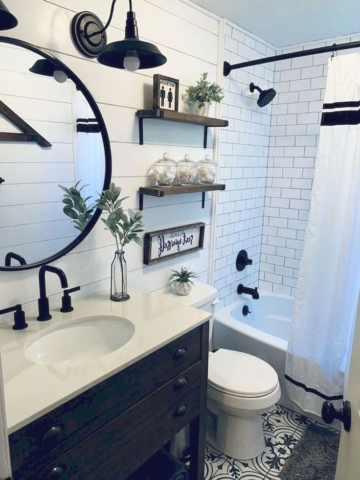 Do You Love Farmhouse Bathroom Decor Ideas Do You Want To Transform Your Bathroom Int In 2020