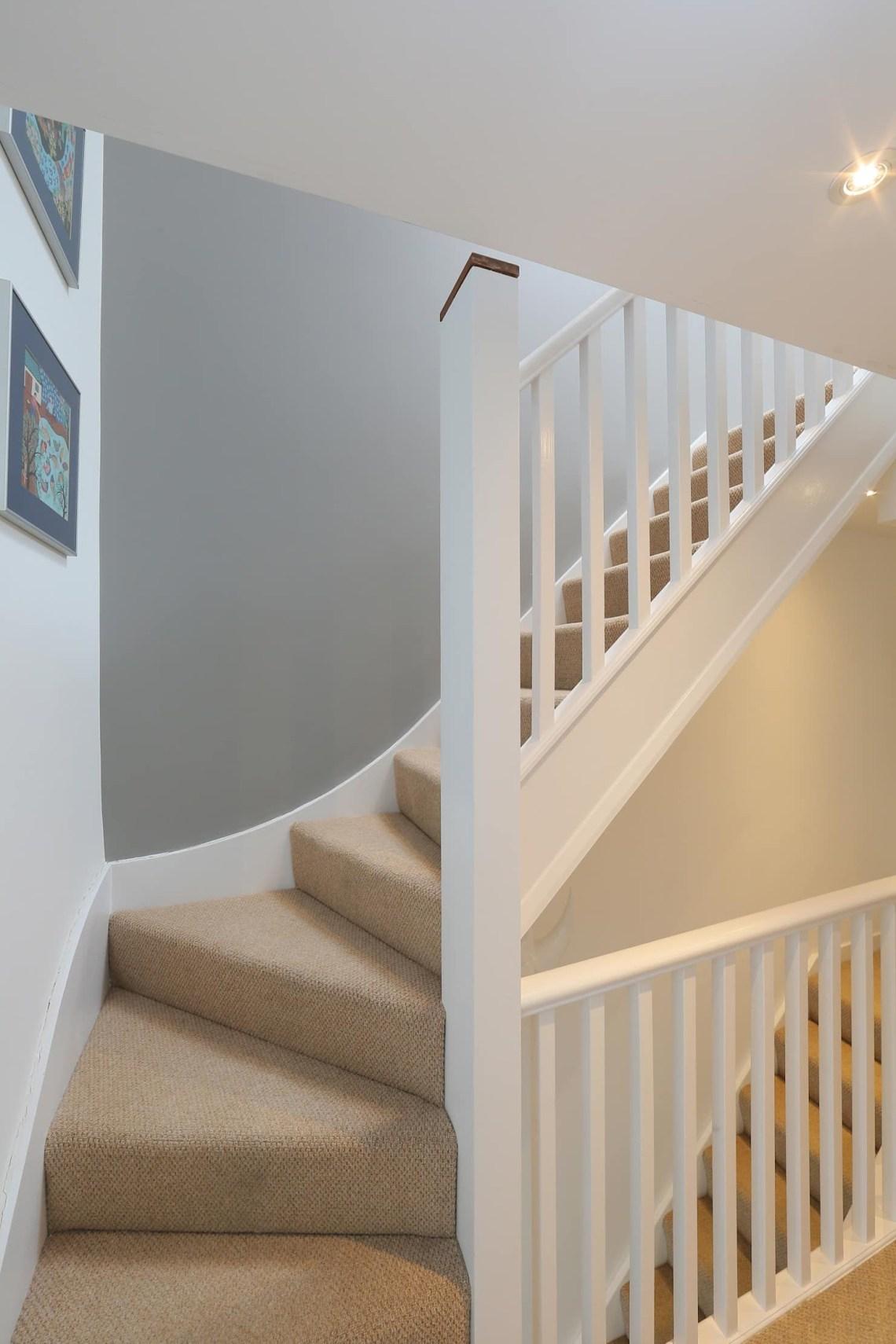 Dormer Loft Conversion Wandsworth Modern Corridor Hallway