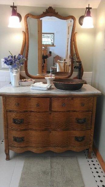 Dressers Turned Into Vanities Beautiful Antique Dresser