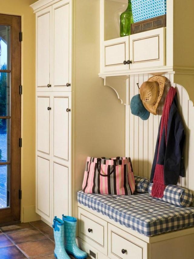 Easy Hallway Organization With Mudroom Furniture Ideas