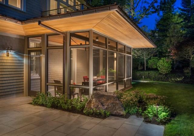 Enclosed Front Porch Paint Ideas Enclosed Front Porch
