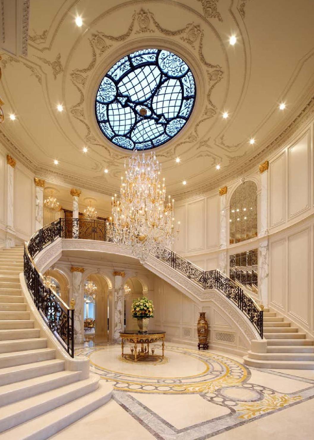 European Neo Classical Style Ii Staircase Design Luxury