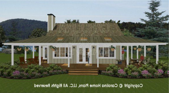 Exchange The Front Elevation For The Back Elevation And