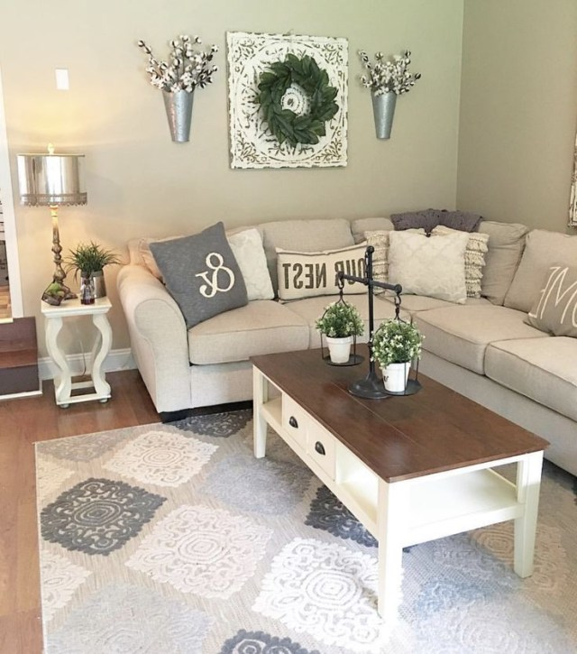 Fabulous Farmhouse Living Room Decor Ideas French