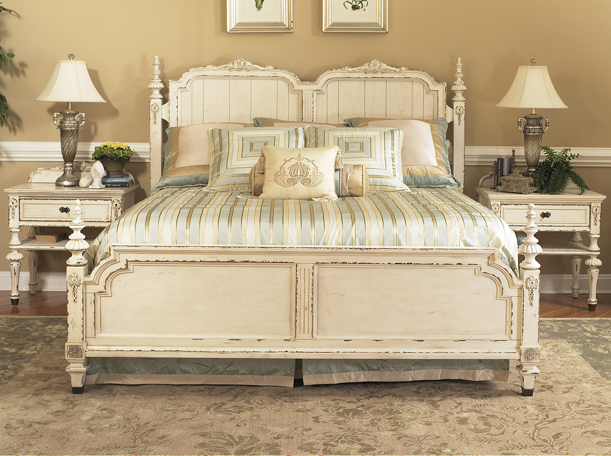 Fairmont Designs Furniture Providence Bedroom Collection Features A Panel Bed French Style