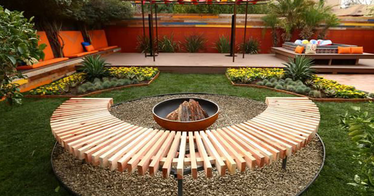 Fantastic Backyard Ideas On A Budget Luxury Backyards Best Patio Gardens Great Pool Landscaping