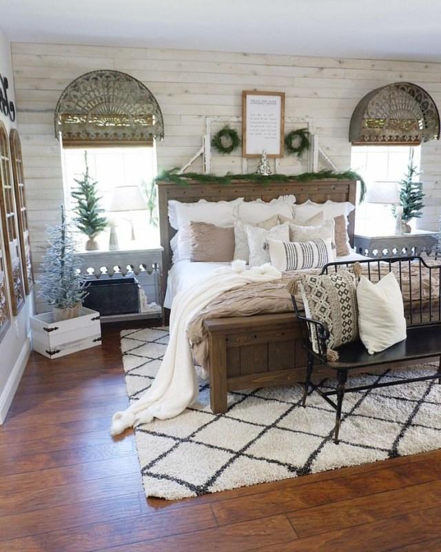Farmhouse Bedroom Farmhouse Bed Rustic Decor
