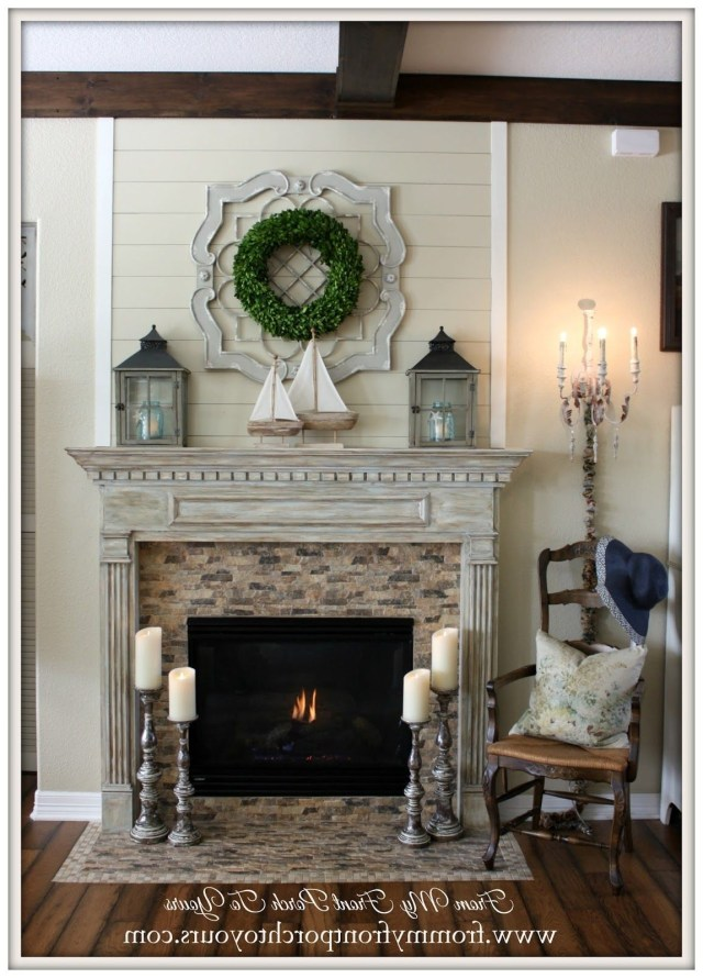 Farmhouse Fireplace Ideas French Country Fireplace