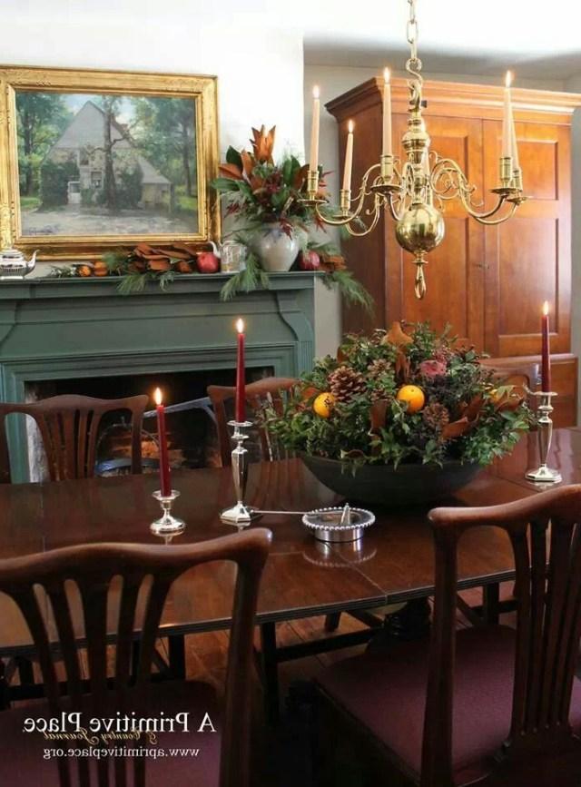 Farmhouse Interior Vintage Early American Decor Is