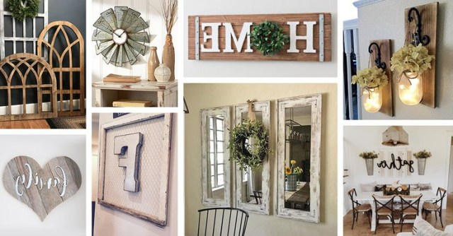 Farmhouse Wall Decor Ideas That Will Help You Create