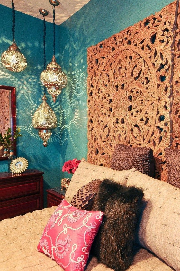 Fascinating Moroccan Bedroom Decoration Ideas 21 With