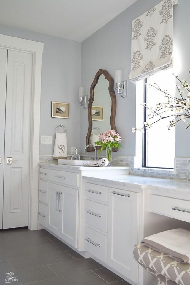 Favorite Paint Colors Rustic Master Bathroom Gray