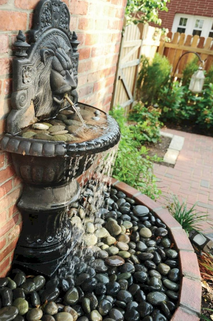 Fine 43 Beautiful Water Fountains Ideas For Your Front