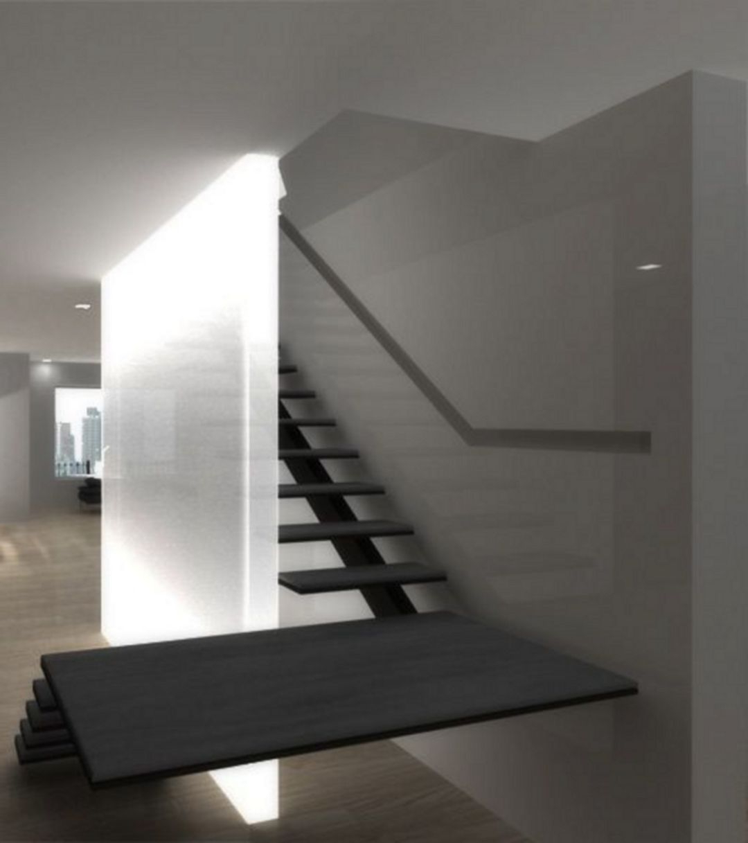 Floating Stairs 2117 Decorathing