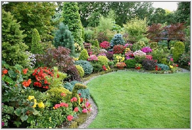 Flower Garden Designs And Layouts Unique For A Small Front