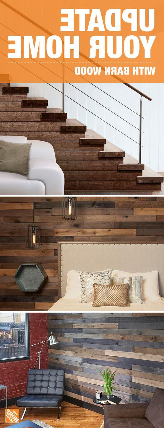 From Ceilings To Accent Walls Theres Many Ways Barn Wood