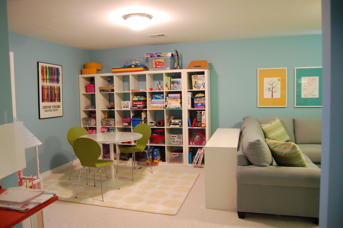 Fun And Functional Family Playroom Family Room Playroom