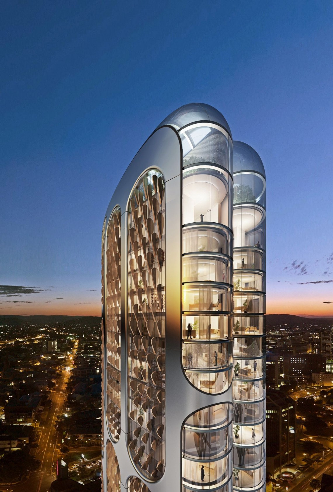 Futuristic 197 Building In The Heart Of Parramatta