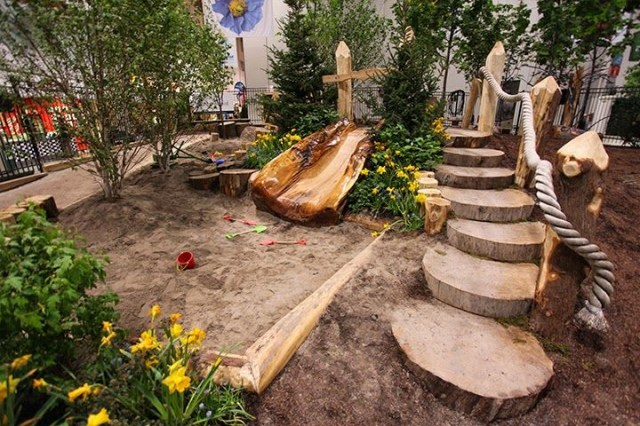Garden Design Garden Design With Backyard Playground